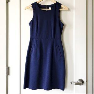 Old Navy ponte knit sleeveless sheath dress XS